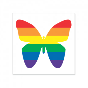 Vinyl Sticker: Butterfly