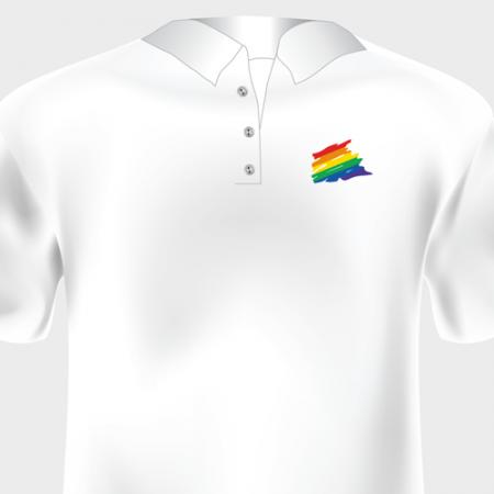 White Golf Shirt