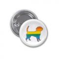 Button Badge - Dog