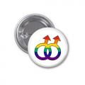 Button Badge - Male Symbols