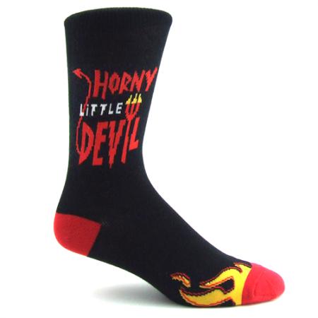 Horny Devil Socks