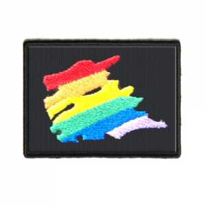 Patch - Rainbow Squiggle
