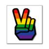 Rainbow Peace Hand