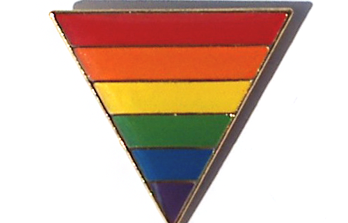 Pin Badge - Triangle