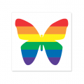 Vinyl Sticker: Butterfly