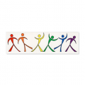 Vinyl Sticker: Dancing Boys