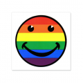 Vinyl Sticker: Smiley