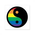 Vinyl Sticker: Yin-Yang